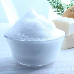 石鹸の泡の画像