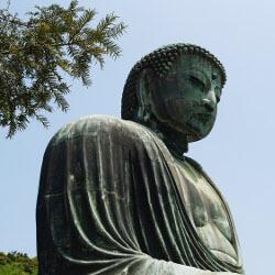 鎌倉の大仏像の画像