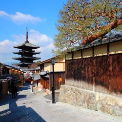 京都の町の画像